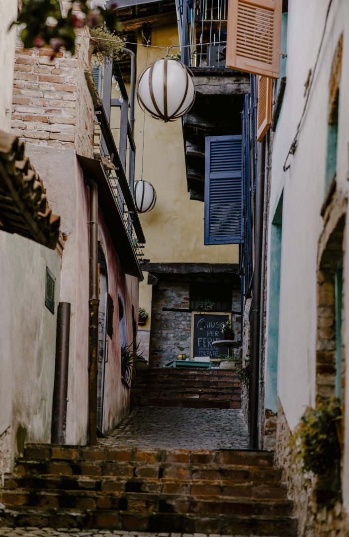 Old town view, places to visit in the Langhe, Piedmont | Casa di Langhe